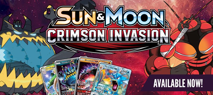 Pokemon Sun and Moon - Crimson Invasion