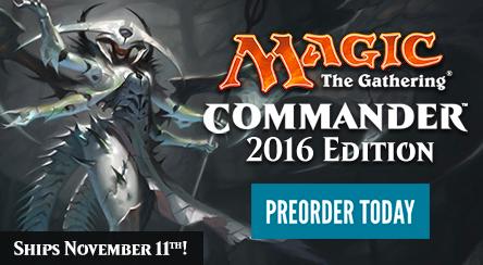 Commander 2016 Preorder