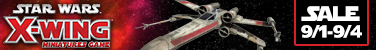 X-Wing Sale 9/1 to 9/4