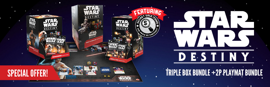 Star Wars: Destiny - Triple Box Bundle