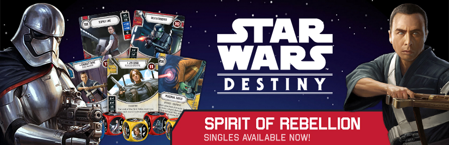 Star Wars Destiny Spirit of Rebellion