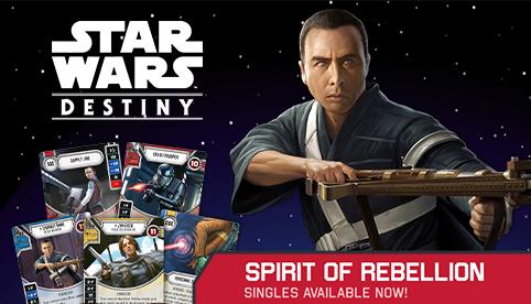 Star Wars Destiny Spirit of Rebellion