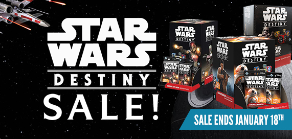 Star Wars: Destiny - Sealed Sale