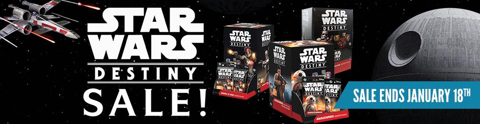 Star Wars: Destiny - Sealed Product Sale