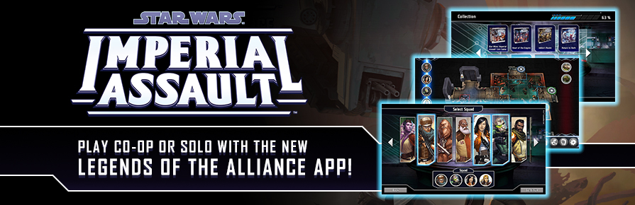 Imperial Assault - Legends of the Alliance App