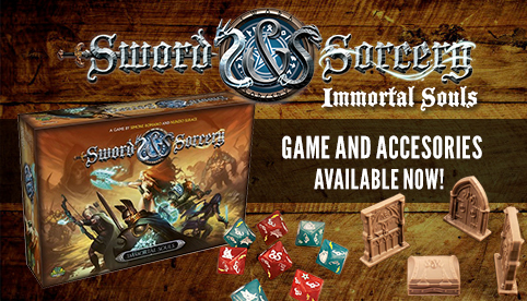Sword and Sorcery Game and Accessories