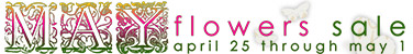 May Flowers Sale