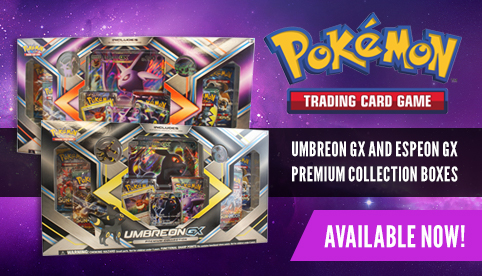 Umbreon-GX and Espeon-GX Premium Collection Boxes