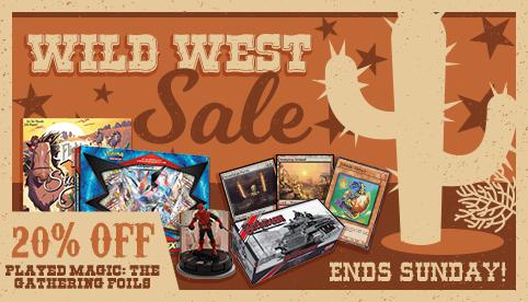 Wild West Sale