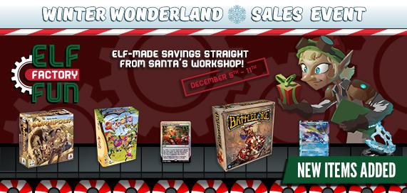 Winter Wonderland Sales Event - Elf Factory Fun