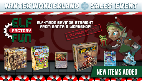Winter Wonderland Sales Event - Elf Factory Fun