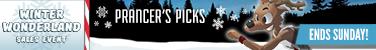 Winter Wonderland Sales Event - Prancer's Picks