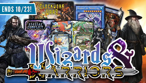 Wizards and Warriors Sale