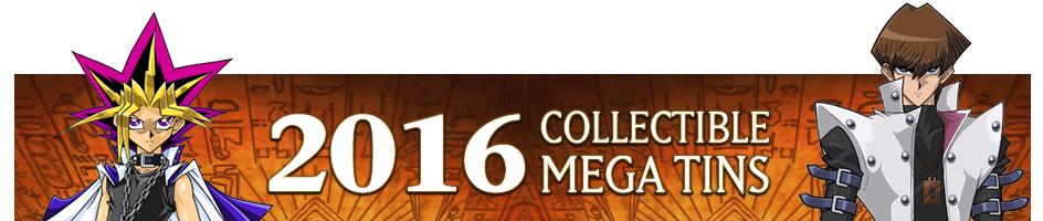 2016 Collectible Mega Tins