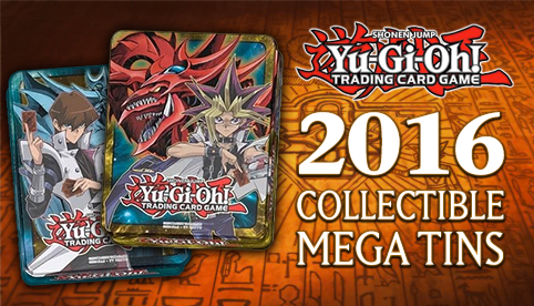 Yugioh 2016 Collectible Mega Tins