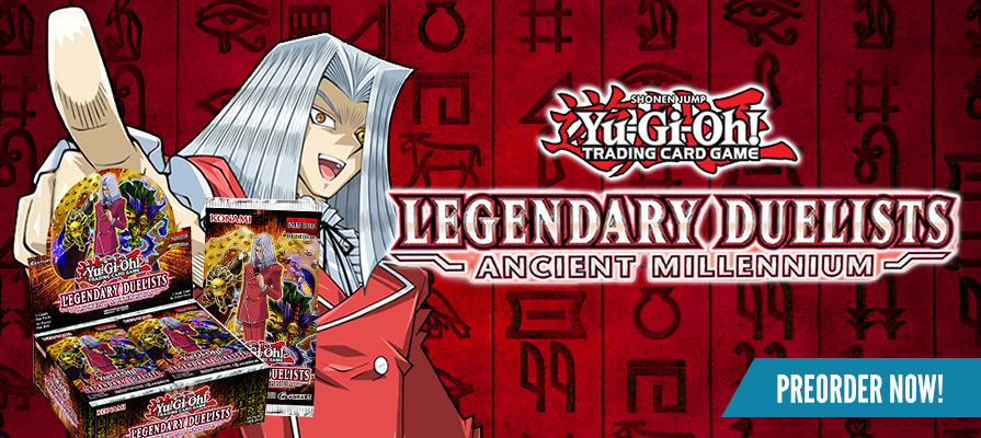 Yugioh - Legendary Decks: Ancient Millennium