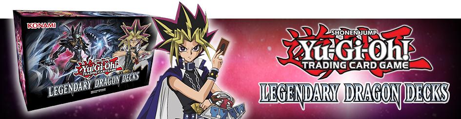 Yugioh - Legendary Dragon Decks
