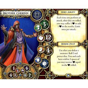 Descent Second Edition: Crown of Destiny Hero and Monster Collection