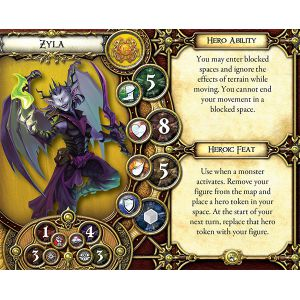 Descent Second Edition: Treaty of Champions Hero and Monster Collection