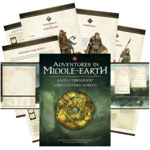 Adventures in Middle-Earth Loremaster's Screen (D&D Fifth Edition)