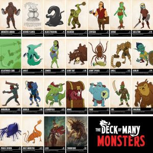 Dungeons & Dragons: The Deck of Many Monsters 1