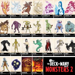 Dungeons & Dragons: The Deck of Many Monsters 2