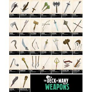 Dungeons & Dragons: The Deck of Many Weapons