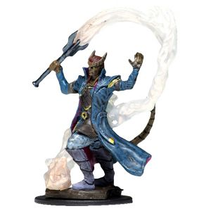 D&D Fantasy Miniatures: Icons of the Realms: Premium Figure - Male Tiefling Sorcerer