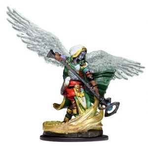D&D Fantasy Miniatures: Icons of the Realms: Premium Figure - Aasimar Female Wizard