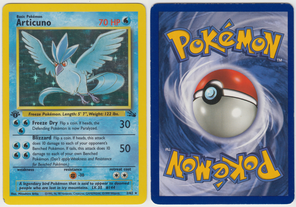 Unique image for Articuno - 2/62