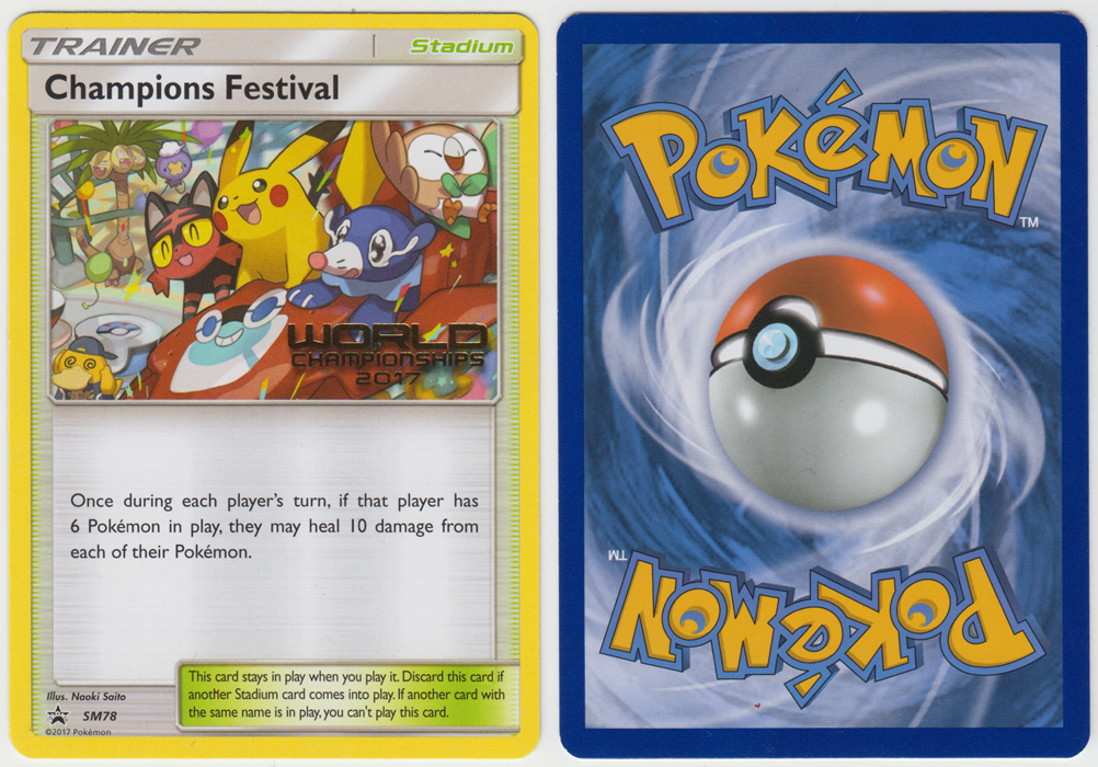 Unique image for Champions Festival - SM78
