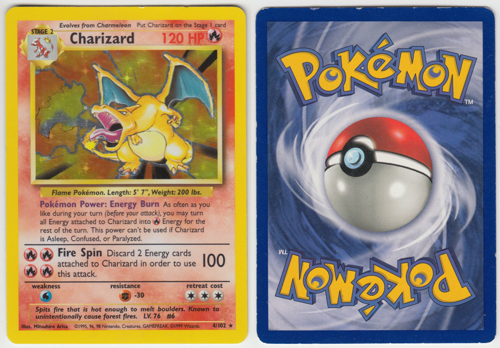 Unique image for Charizard - 4/102