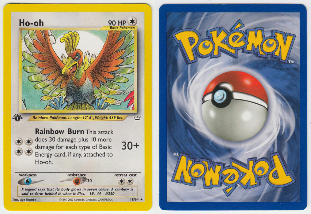 Unique image for Ho-oh - 18/64