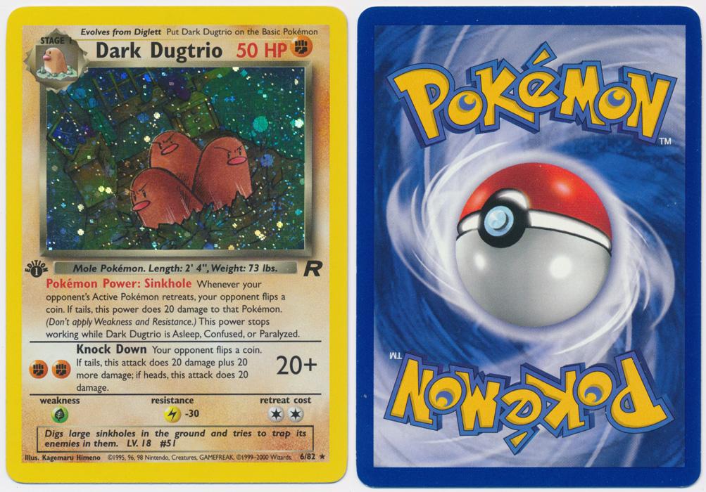Unique image for Dark Dugtrio - 6/82