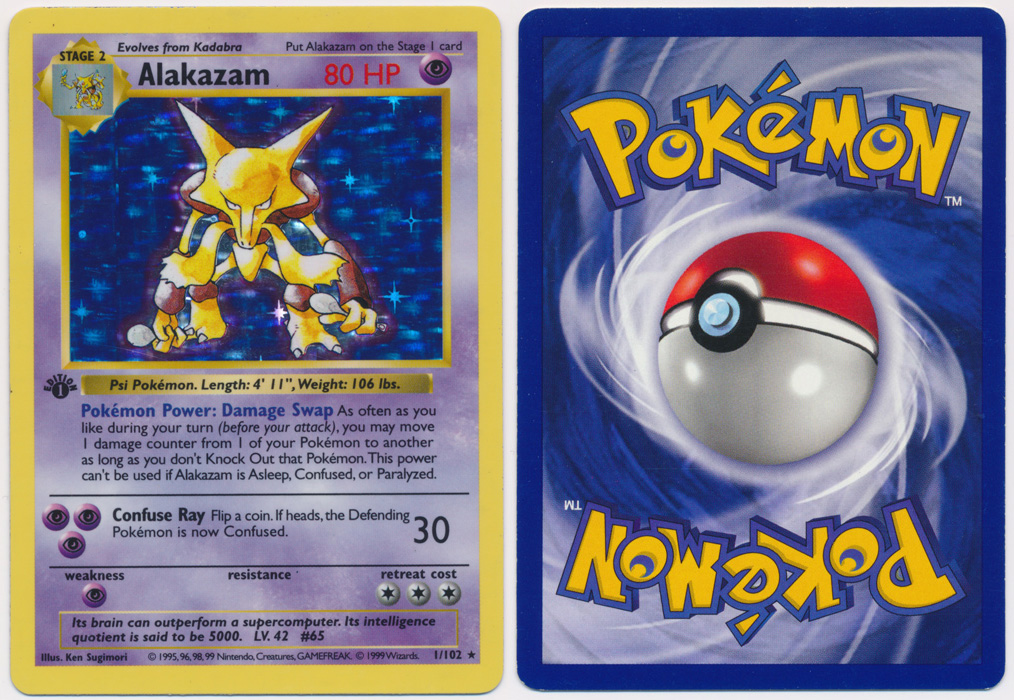 Unique image for Alakazam - 1/102