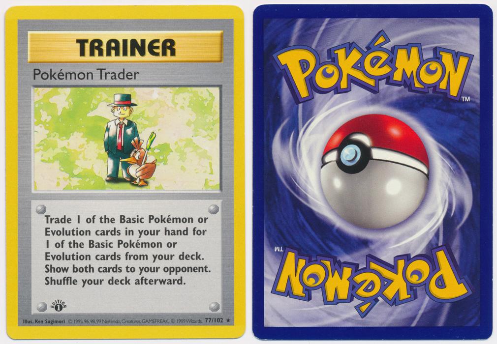 Unique image for Pokemon Trader - 77/102