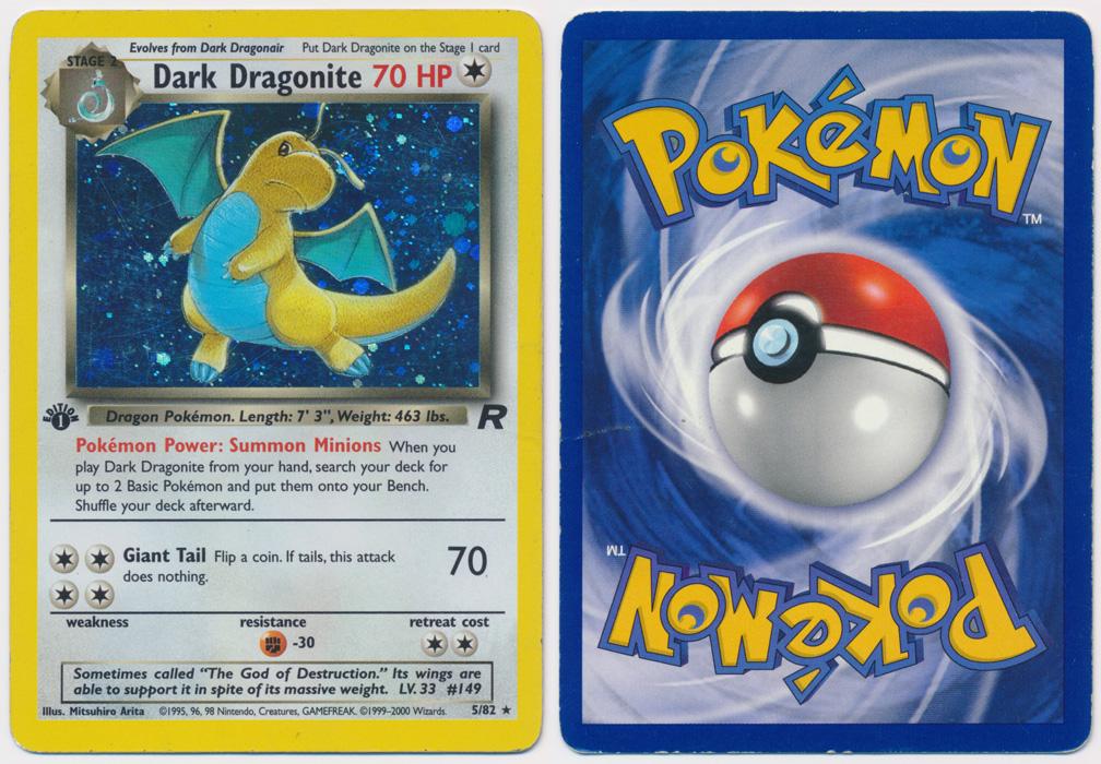 Unique image for Dark Dragonite - 5/82