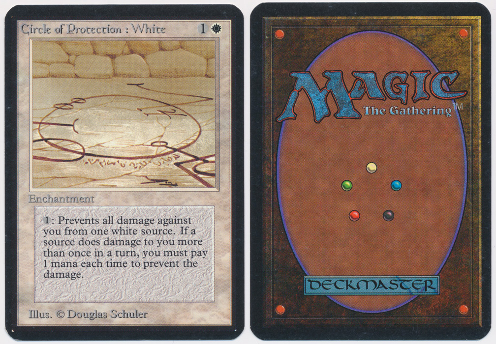 Unique image for Circle of Protection: White