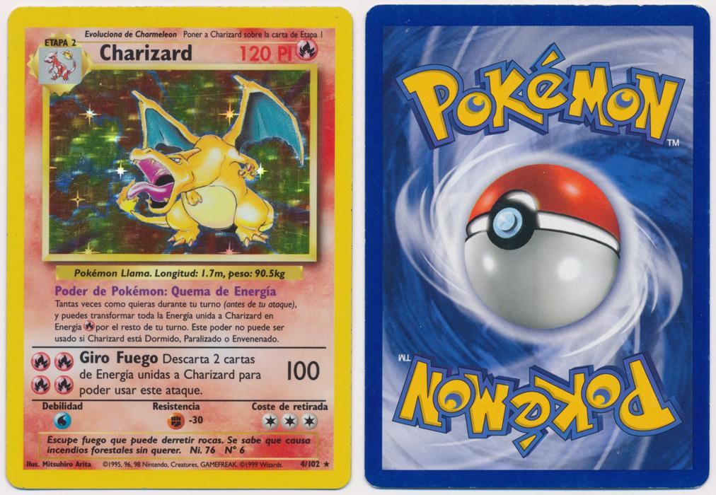 Unique image for Charizard - 4/102