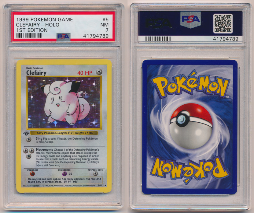 Unique image for Clefairy - 5/102