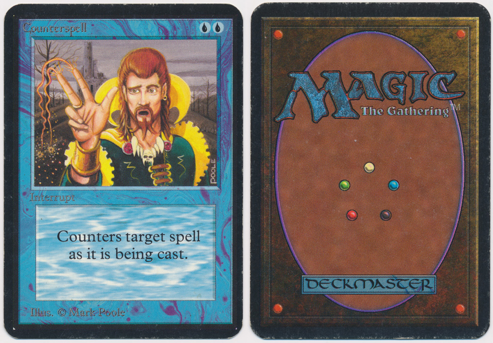 Unique image for Counterspell