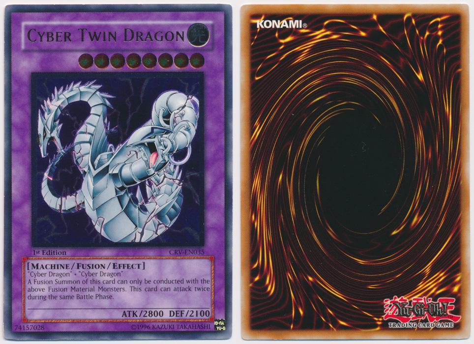 Unique image for Cyber Twin Dragon (Ultimate Rare)