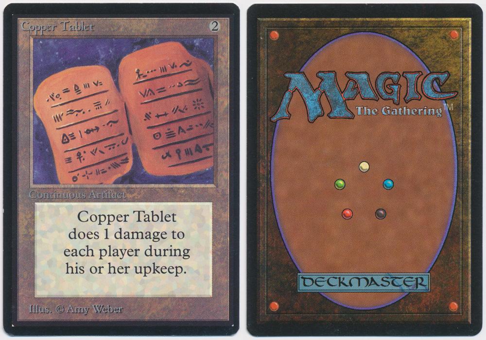 Unique image for Copper Tablet