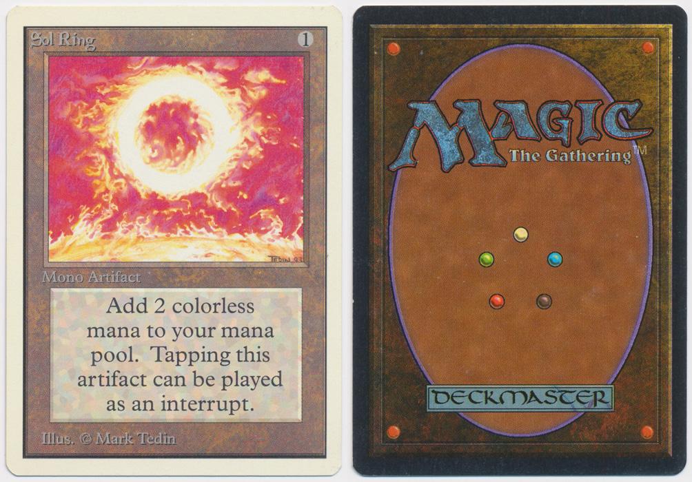 Unique image for Sol Ring