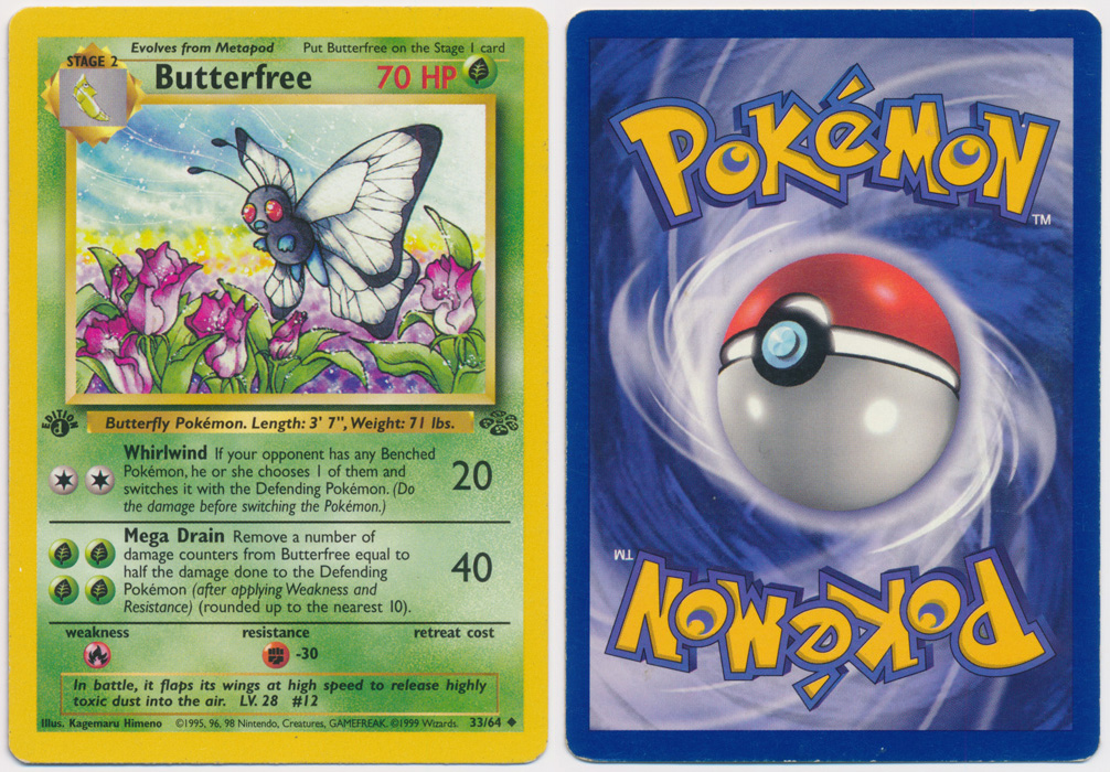 Unique image for Butterfree - 33/64