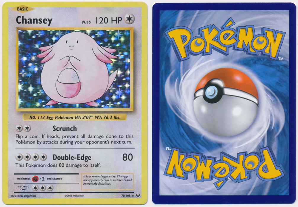 Unique image for Chansey - 70/108