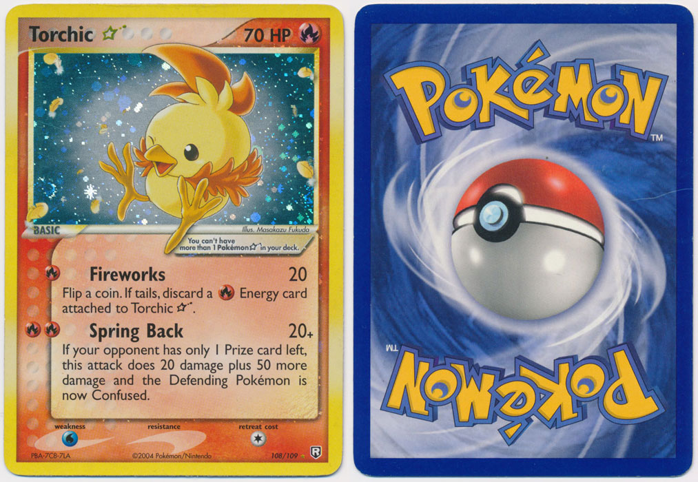 Unique image for Torchic * (Star) - 108/109