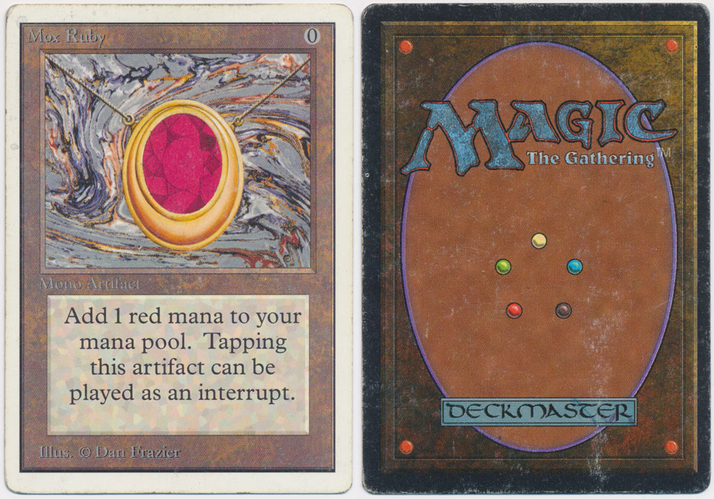 Unique image for Mox Ruby