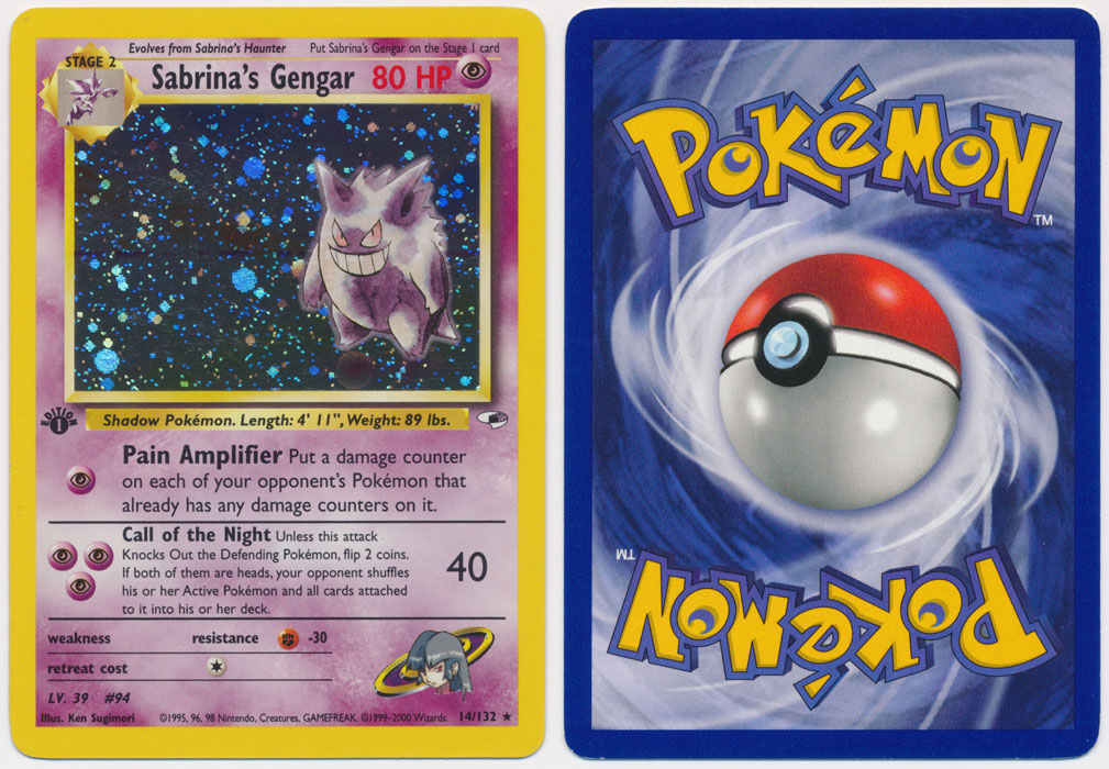 Unique image for Sabrina's Gengar - 14/132