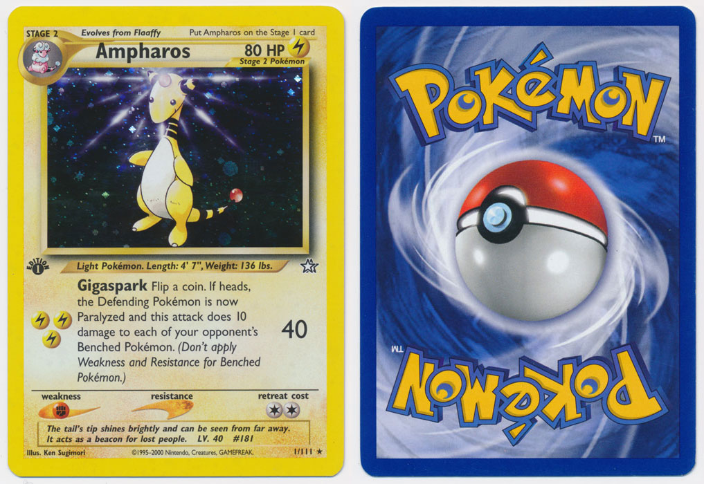 Unique image for Ampharos - 1/111